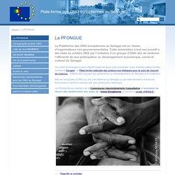 La plate-forme - La plate-forme des ONG européennes au Sénégal