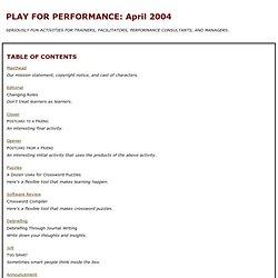 PFP: April 2004