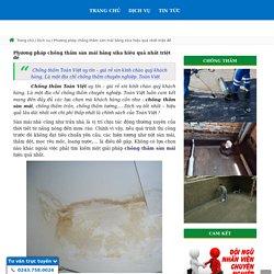 Phương pháp chống thấm sàn mái bằng sika hiệu quả nhất triệt để
