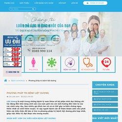 Phương pháp trị bệnh liệt dương
