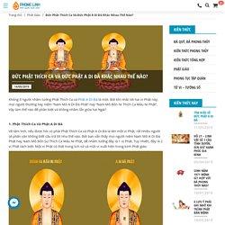 Đức Phật Thích Ca Và Đức Phật A Di Đà Khác Nhau Thế Nào?