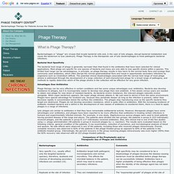 Phage Therapy Center