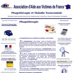 Phagothérapie association d'aide aux victimes de france avf