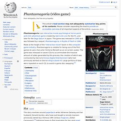Phantasmagoria (video game)