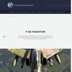 F-4D Phantom - The Collings Foundation