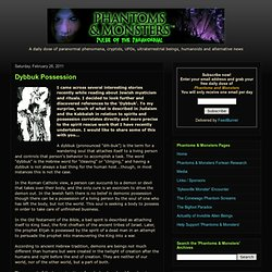 Paranormal, UFOs, Cryptids and Unexplained Phenomena
