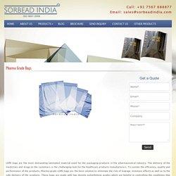 LDPE Pharma Grade Bags Supplier www.ldpebag.com