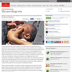 Pharmaceutical pricing: The new drugs war