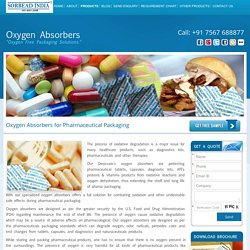 Oxygen Absorbers for Pharmaceutical Formulations and API's