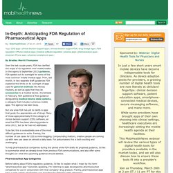 In-Depth: Anticipating FDA Regulation of Pharmaceutical Apps