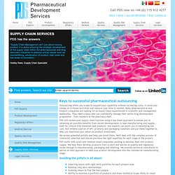 Pharmaceutical and Regulatory consulting