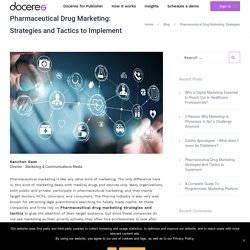 Pharmaceutical Drug Marketing: Strategies and Tactics to Implement - Doceree