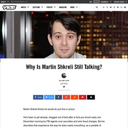 Wine, Wu-Tang, and Pharmaceuticals: Inside Martin Shkreli's World