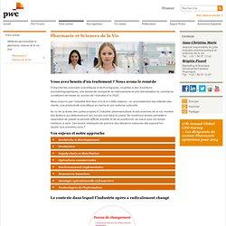 Conseil industrie et secteur pharmaceutique - grossistes pharmacie : PwC