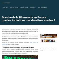 Marché de la Pharmacie en France : quelles évolutions ces dernières années ?