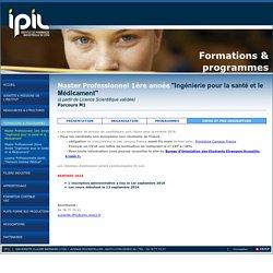 IPIL - Institut de Pharmacie Industrielle de Lyon