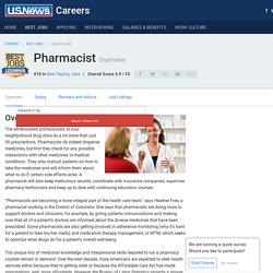 Pharmacist - Career Rankings, Salary, Reviews and Advice