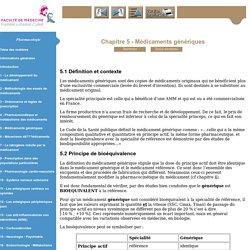 Pharmacologie - Niveau DCEM1