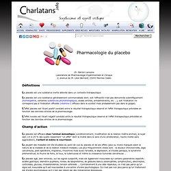 Pharmacologie du placebo, effet placebo