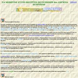 pharmacopée et recettes