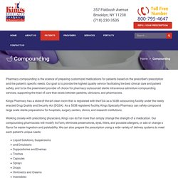 Fertility Compounding Pharmacy