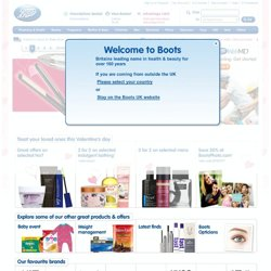 Health and Beauty, Pharmacy and Prescriptions, UK Chemist