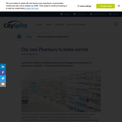 Our new Pharmacy to home service