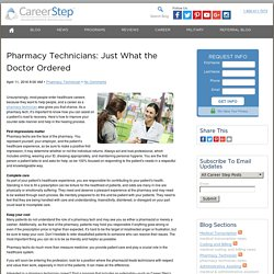 How to ensure quality patient care as a Pharmacy Technician?