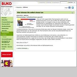 BUKO Pharmakampagne Bielefeld - Hier können Sie selbst etwas tun