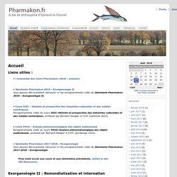 Pharmakon.fr, Ecole de philosophie d'Epineuil-le-Fleuriel