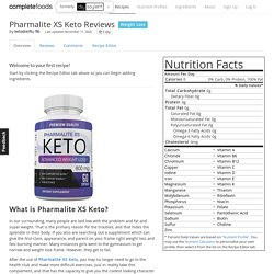 Pharmalite XS Keto Reviews