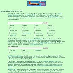 Ben's Phaster Online Encyclopedia Reference Desk
