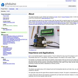 phduino - pH meter using Arduino board for glass electrode.