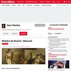 Phèdre de Racine : Résumé