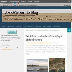 Tel Achziv : les fouilles d'une antique cité phénicienne – ArchéOrient – Le Blog
