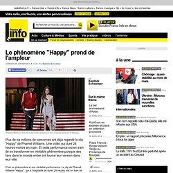 "Le phénomène ""Happy"" prend de l'ampleur"