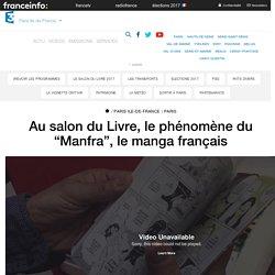 """Au salon du Livre, le phénomène du """"Manfra"""", le manga français"""