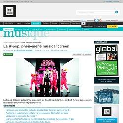 La K-pop, phénomène musical coréen