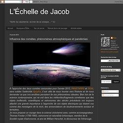 Influence des comètes, phénomènes atmosphériques et pandémies