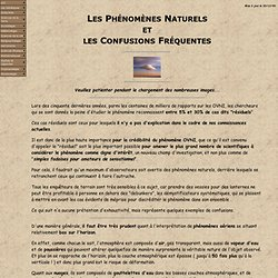 les phénomènes naturels-1