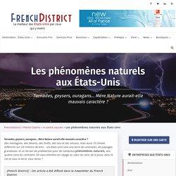 Les phénomènes naturels aux Etats-Unis - Séisme, Aurores Boréales...