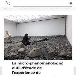 La micro-phénoménologie