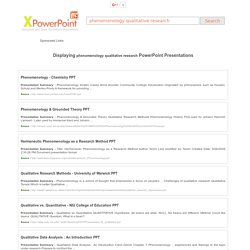 Powerpoint Presentations and Slides » View and Download