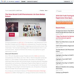 The New Brand Craft Phenomenon: An Even Better Future - USA Trade Tasting BlogUSA Trade Tasting Blog