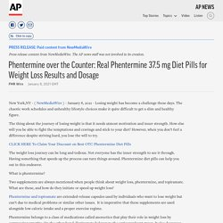 Phentermine over the Counter: Real Phentermine 37.5 mg Diet Pills for Weight Loss Results and Dosage