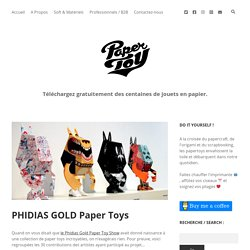PHIDIAS GOLD Paper Toys