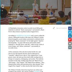 "Philadelphia 5th Graders Forced to Celebrate ""Black Communism"""