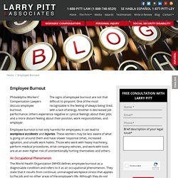 Philadelphia Workers' Compensation Lawyers