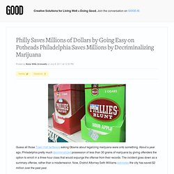 Philadelphia Saves Millions by Decriminalizing Marijuana - News