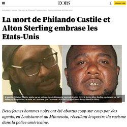 La mort de Philando Castile et Alton Sterling embrase les Etats-Unis